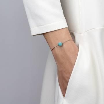 amazonite mini cosmo beaded bracelet 2