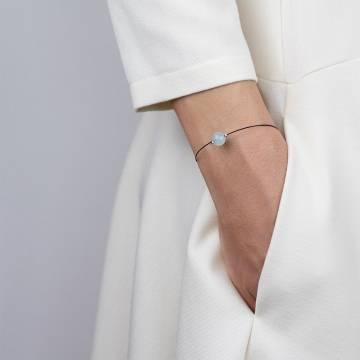 aquamarine mini cosmo beaded bracelet 2