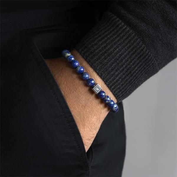 Bactria Beaded Stretch Bracelet
