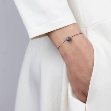 black labradorite mini cosmo beaded bracelet 2