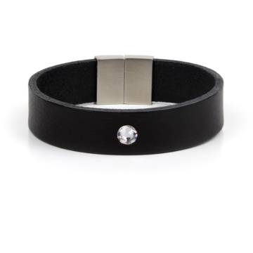 Confidence Star Single Leather Bracelet