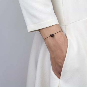 garnet mini cosmo beaded bracelet 2