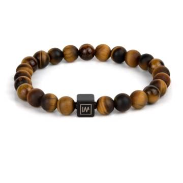 Ayyappan Beaded Stretch Bracelet for MEN