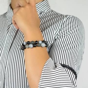 bloodstone relief beaded bracelet 3