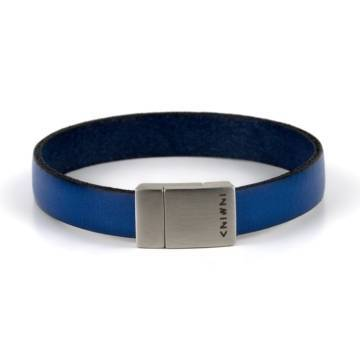 Blue Wind Leather Bracelet