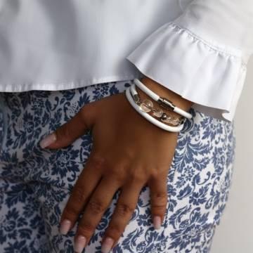 clarity beaded leather bracelet 3