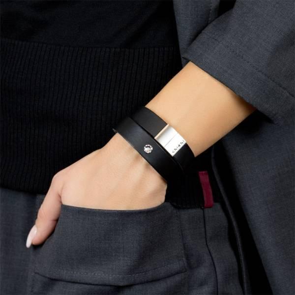 Confidence Star Leather Bracelet