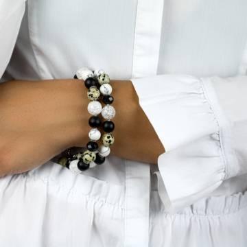 dalmatian elegance beaded bracelet 3