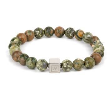 Rainforest Wagyl Beaded Stretch Bracelet