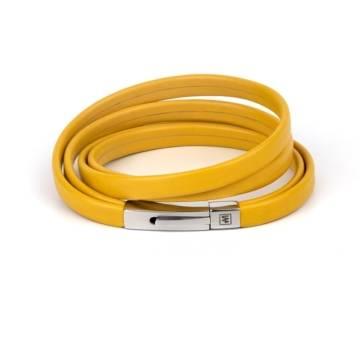 Sunny Mood Leather Bracelet