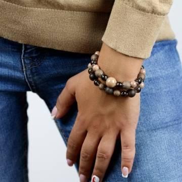 sunset inspiration beaded bracelet 4