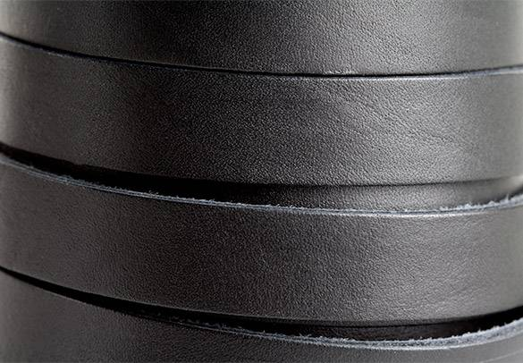 Black Leather 15mm