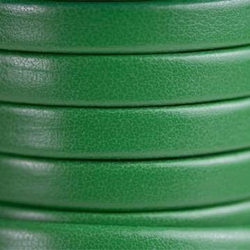 Flat Green Leather