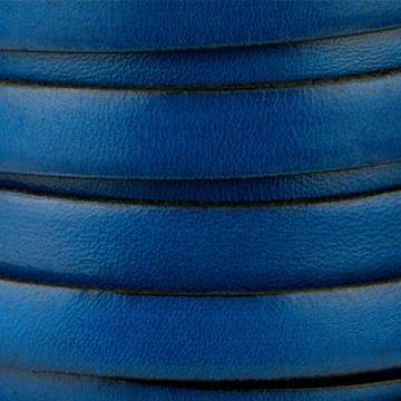 Blue Moulded Leather