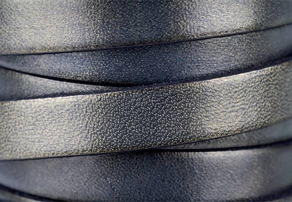 Dark Old Gold Moulded Leather