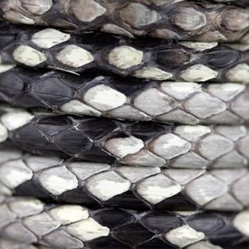 Naturl Python Leather