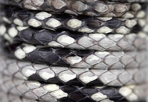 Naturl Python Leather