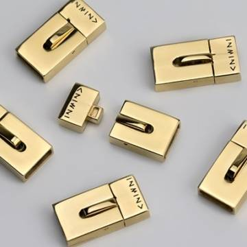 Stainless Steel Golden Clasps