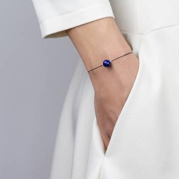 lapis lazuli mini cosmo beaded bracelet 2