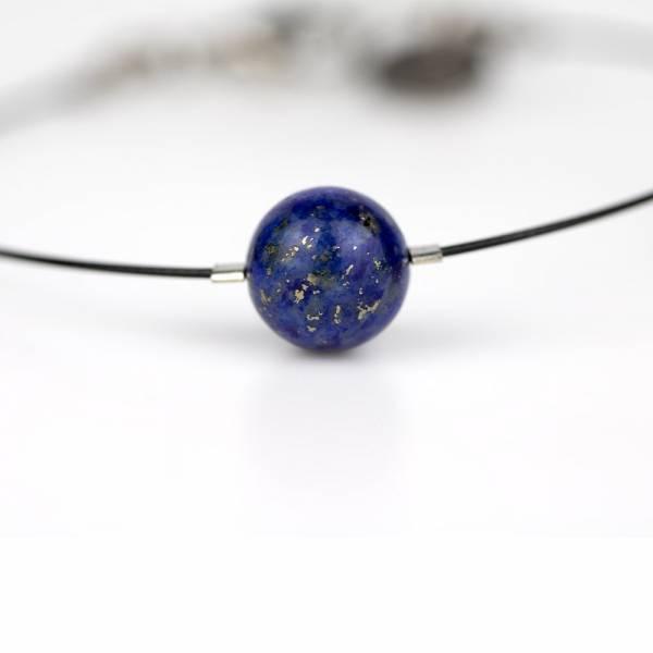 """""""Lapis Lazuli Mini Cosmo"""" - Women's Beaded Minimalist Bracelet, Zodiac Bracelet, Stainless Steel"""
