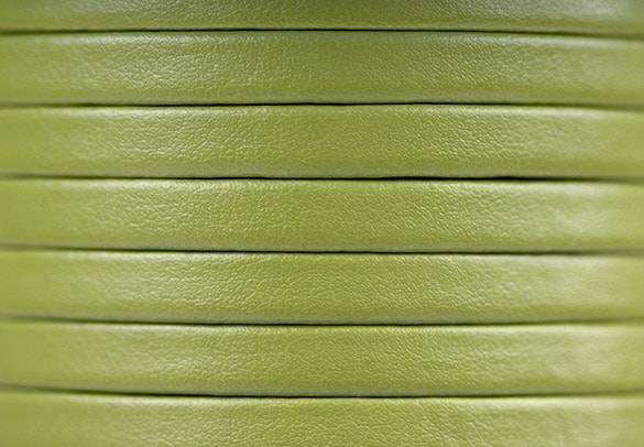 Pistachio Natural Leather