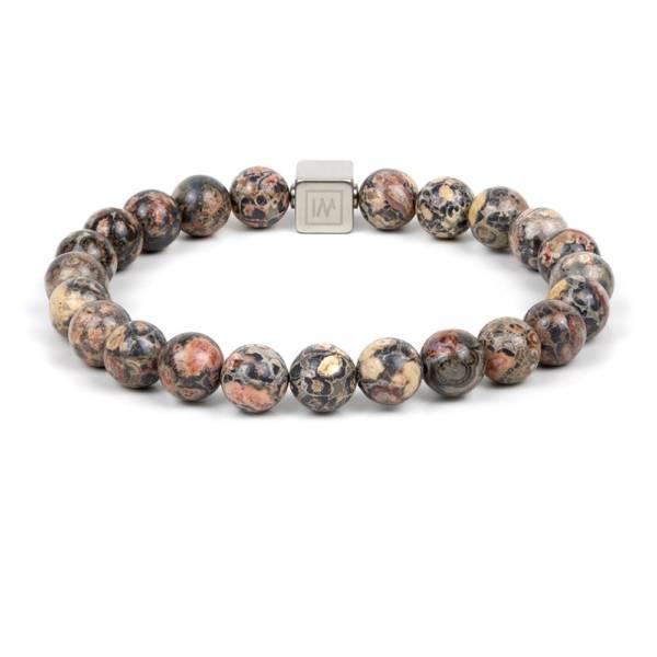Leopard Beaded Stretch Bracelet