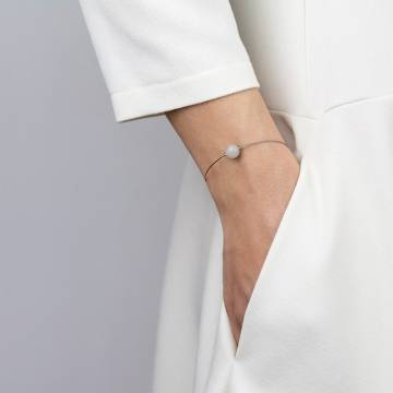 moonstone mini cosmo beaded bracelet 2