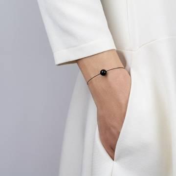obsidian mini cosmo beaded bracelet 2