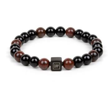 Spartan Beaded Stretch Bracelet