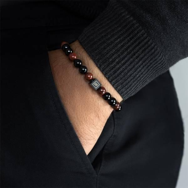 Spartan Beaded Stretch Bracelet