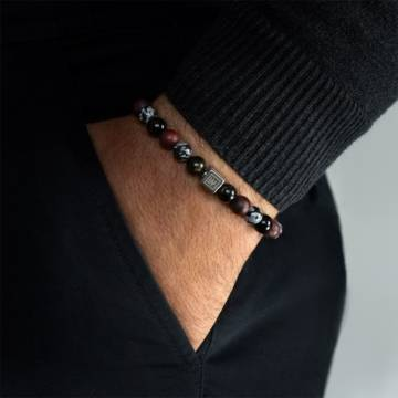 time for action beaded stretch bracelet 3